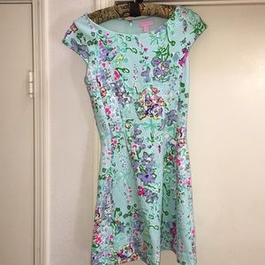 Lilly Pulitzer Blue Southern Charm Brielle Dress
